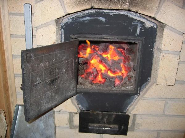Печь на угле своими руками фото